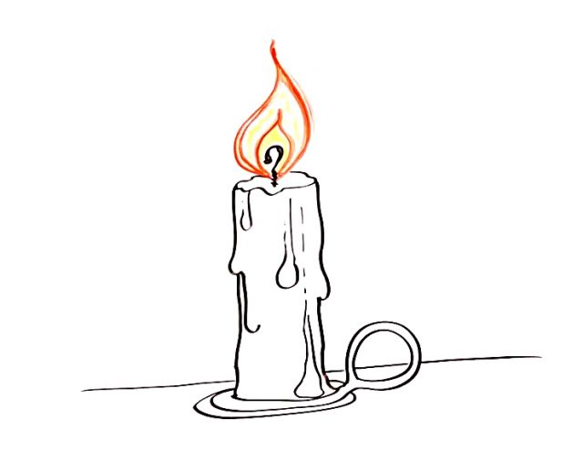 candle (drawing)