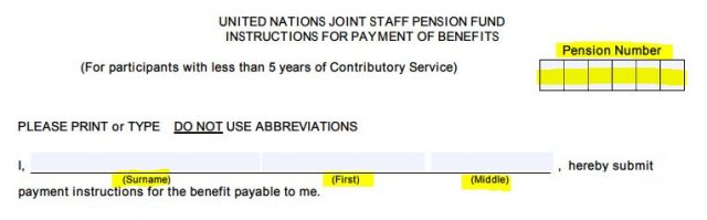 United Nations Joint Staff Pension Fund Pense6 Tutorial