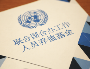 联合国养恤基金中文版信息手册现已发布! / The new brochure in Chinese has just been released!