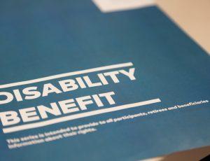 La brochure sur la pension d'invalidité a été mis à jour