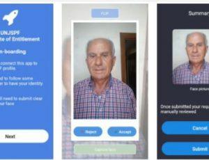 Modernisation du traitement des pensions : la CCPPNU et l'ICC lancent un projet pilote de reconnaissance faciale