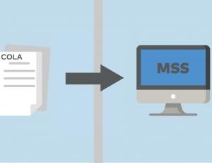 Les lettres d'ajustement lié au coût de la vie seront uniquement disponibles dans l'Espace Client (MSS) pour les retraités et les bénéficiaires qui sont inscrits