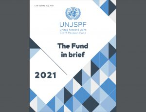 Check out the 2021 brochure about the UN Pension Fund